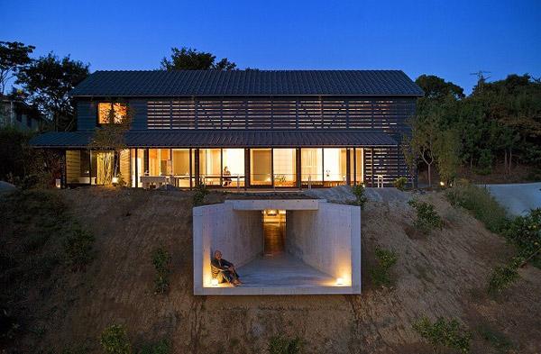 Barn-Style-Home-Design-Japan