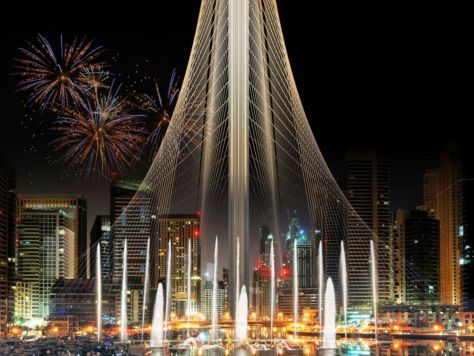 Observation-tower-in-Dubai-Creek-Harbor-by-Santiago-Calatrava-02