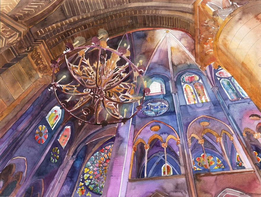 watercolors-from-around-the-world-by-Polish-architect-Maja-Wroska-5717398bdf9ab__880