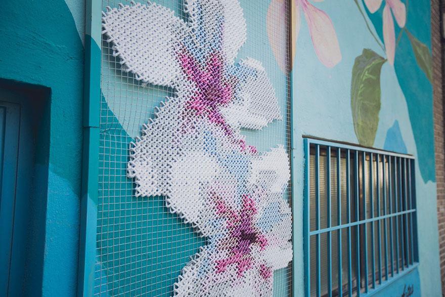 floral-cross-stitch-street-installations-raquel-rodrigo