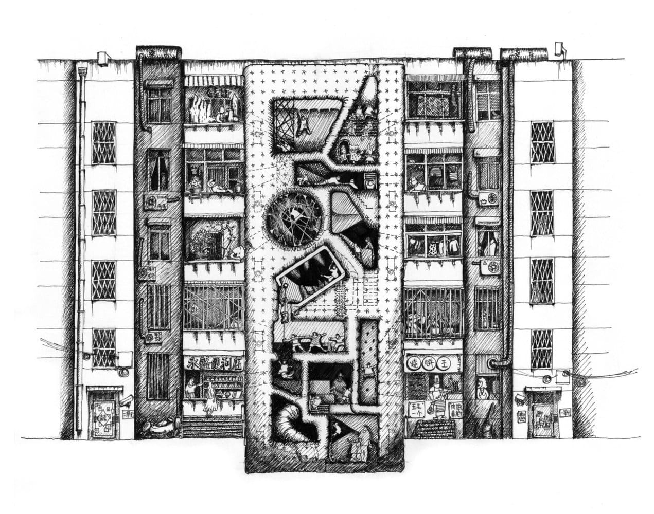 Feifei Feng Modernizmin Panzehiri toplu konut